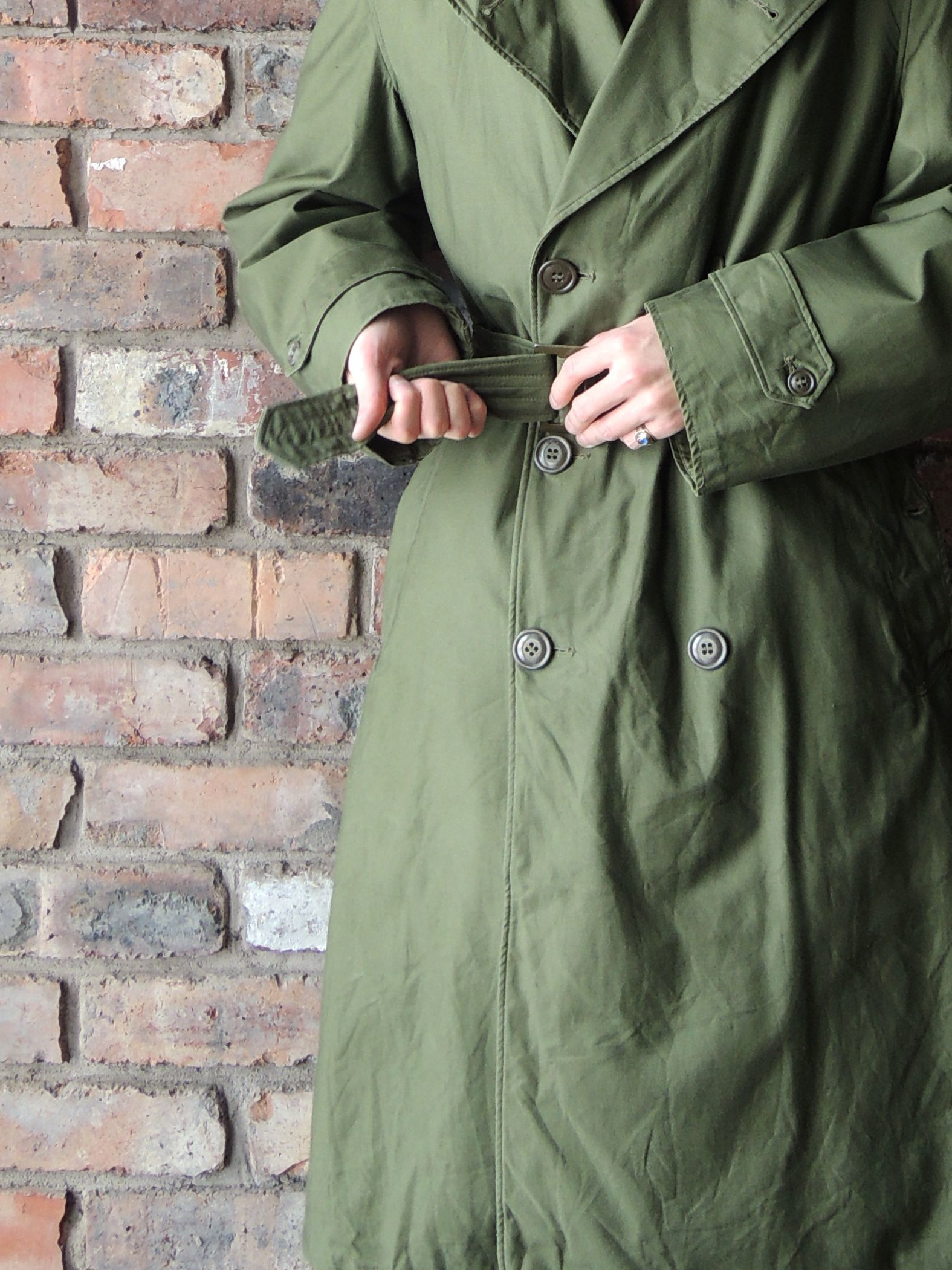 50S U.S.ARMY OVER COAT & MORE--RECOMMEND--_d0334976_14234639.jpg
