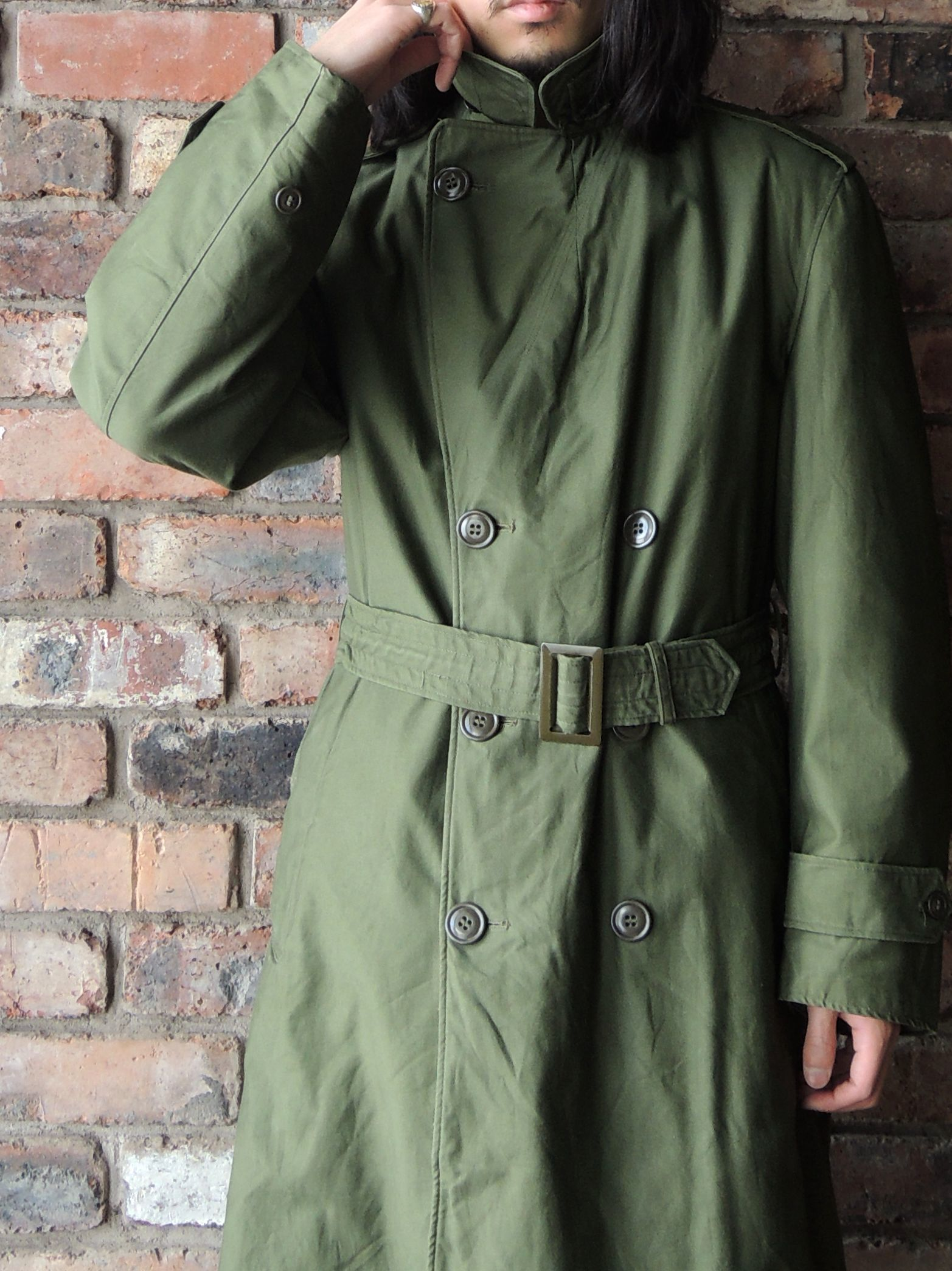 50S U.S.ARMY OVER COAT & MORE--RECOMMEND--_d0334976_14234687.jpg