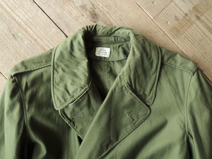 50S U.S.ARMY OVER COAT & MORE--RECOMMEND--_d0334976_14290456.jpg
