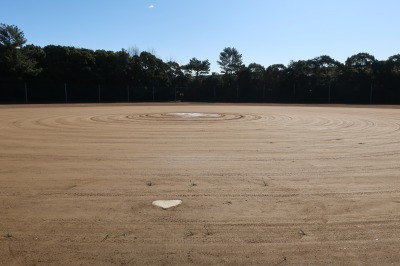 楠広場F野球場が整備されました。_d0338682_09572191.jpg