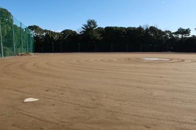 楠広場F野球場が整備されました。_d0338682_09575893.jpg