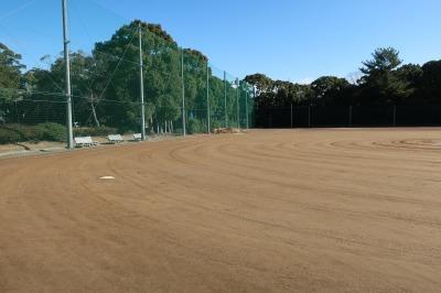 楠広場F野球場が整備されました。_d0338682_09580853.jpg