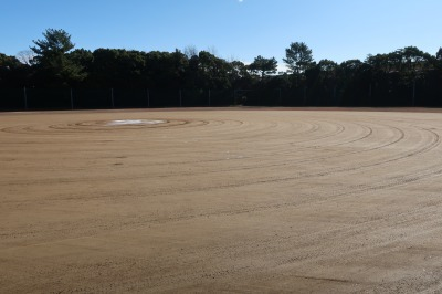 楠広場F野球場が整備されました。_d0338682_09581618.jpg