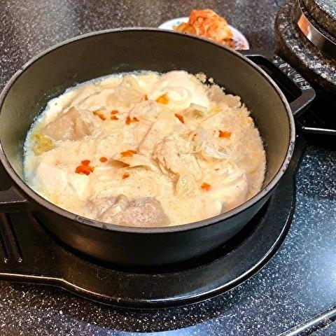 白いスンドゥブチゲと辛くない韓国風おかず_a0223786_13070706.jpg