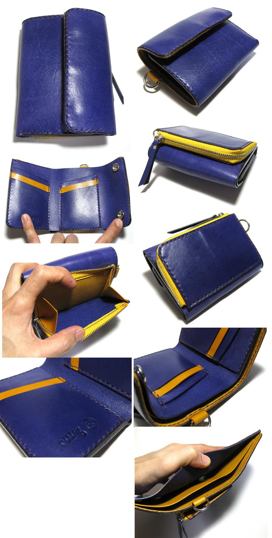 三つ折りウォレット(BIG)   ¥22,500_f0130303_15360828.jpg