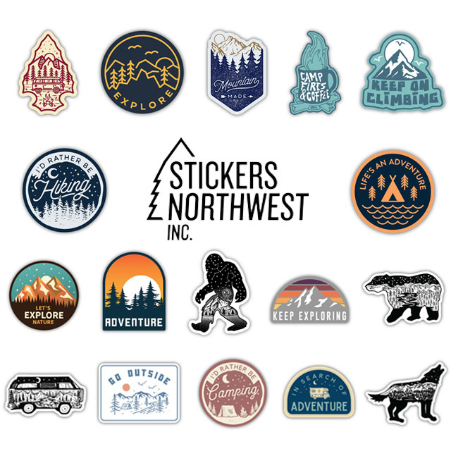 STICKERS NORTHWEST[ステッカーズ ノースウエスト] PRINTED STICKERS [LSTK] ステッカー・ MEN\'S/LADY\'S _f0051306_15521461.jpg