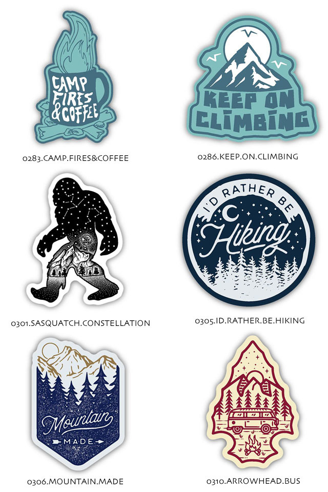 STICKERS NORTHWEST[ステッカーズ ノースウエスト] PRINTED STICKERS [LSTK] ステッカー・ MEN\'S/LADY\'S _f0051306_15521598.jpg