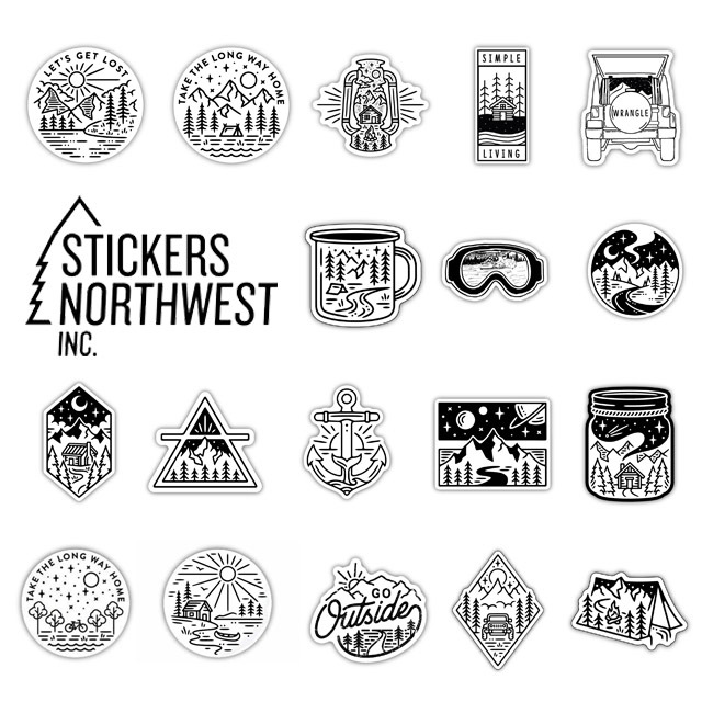 STICKERS NORTHWEST[ステッカーズ ノースウエスト] PRINTED STICKERS [LSTK] ステッカー・ MEN\'S/LADY\'S _f0051306_15572366.jpg