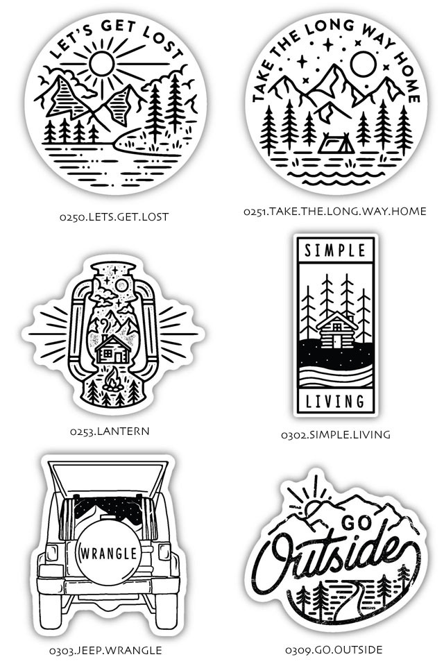 STICKERS NORTHWEST[ステッカーズ ノースウエスト] PRINTED STICKERS [LSTK] ステッカー・ MEN\'S/LADY\'S _f0051306_15572384.jpg