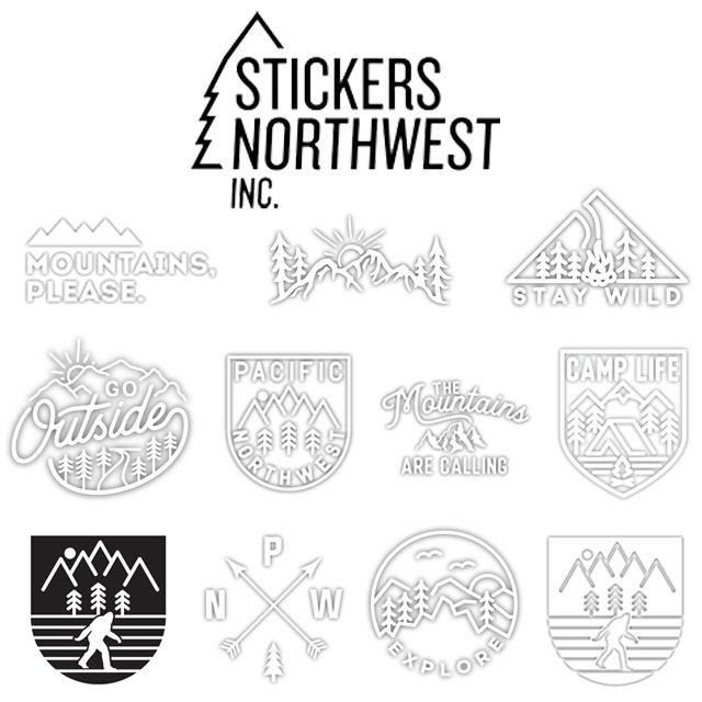 STICKERS NORTHWEST[ステッカーズ ノースウエスト] CUTTING STICKERS [SDCS] ステッカー・ MEN\'S/LADY\'S _f0051306_16015330.jpg