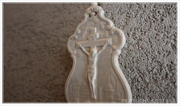 benitier クレイユ・エ・モントローのベニティエ 聖水盤 Creil et Montereau フランスアンティーク_d0184921_14544320.jpg