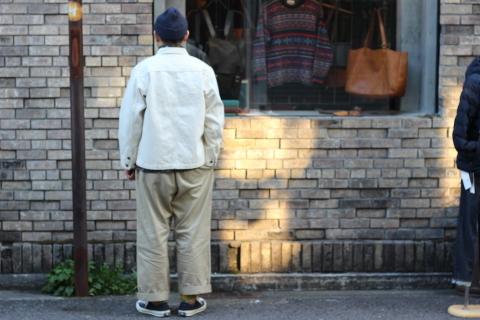 「WORKERS」 Engineer Jacket, White Denim, Sanforized ご紹介_f0191324_08242173.jpg