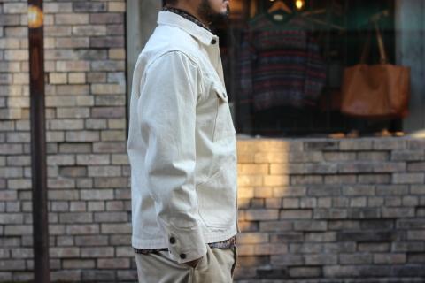 「WORKERS」 Engineer Jacket, White Denim, Sanforized ご紹介_f0191324_08243990.jpg