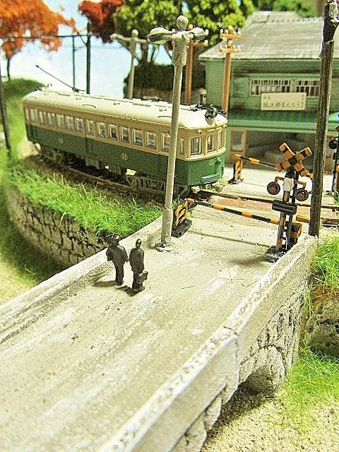 盆ラマレイアウト「黄昏の小径」シリーズその2京町家_f0227828_05220814.jpg