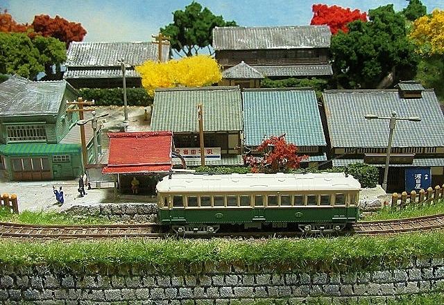 盆ラマレイアウト「黄昏の小径」シリーズその2京町家_f0227828_05263677.jpg