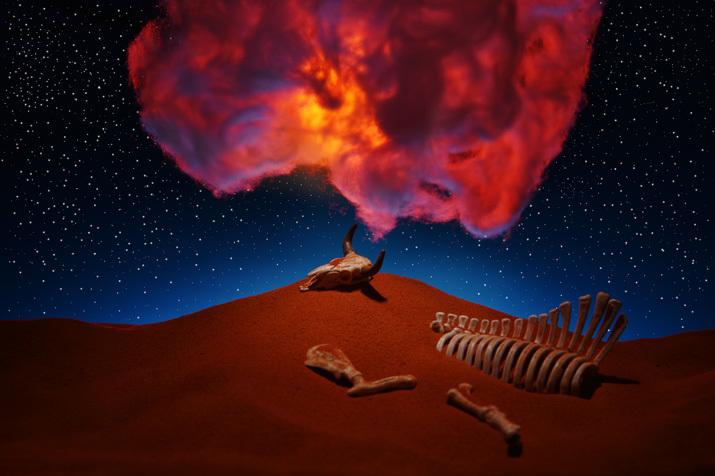 転生の砂丘3〜神秘的な光景_b0175635_16202392.jpg