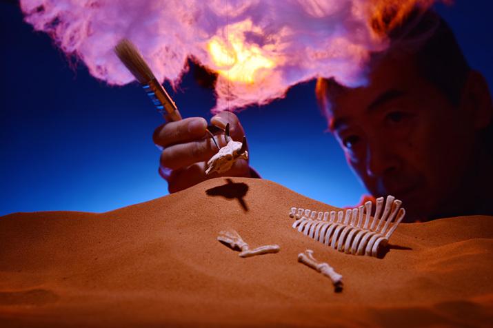 転生の砂丘3〜神秘的な光景_b0175635_16203958.jpg