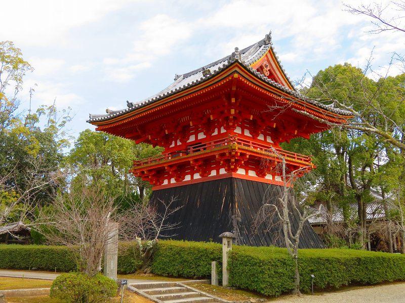 仁和寺の伽藍20200122_e0237645_16422406.jpg