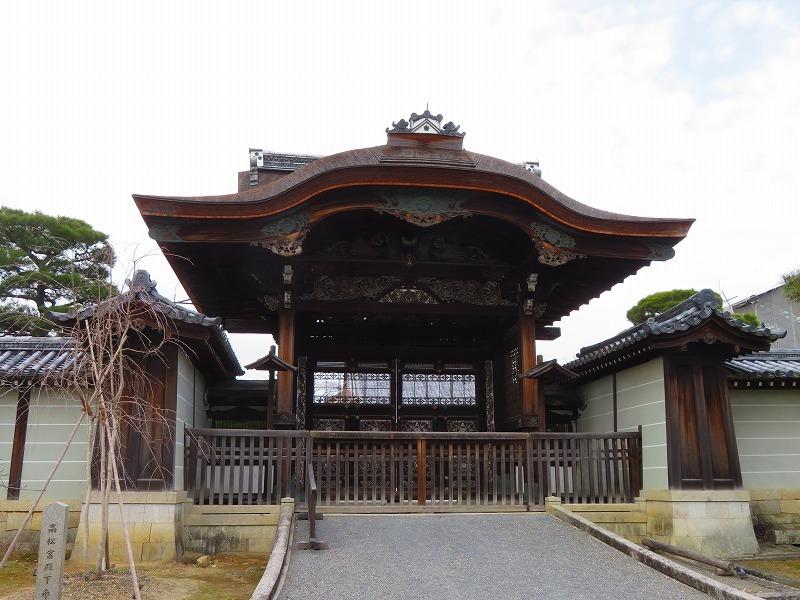 仁和寺の伽藍20200122_e0237645_16430998.jpg