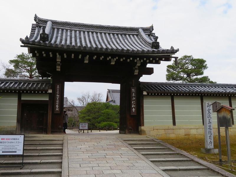 仁和寺の伽藍20200122_e0237645_16431034.jpg