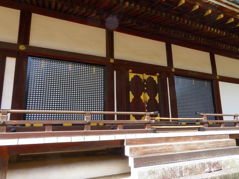 仁和寺の金堂伽藍模様20200122_e0237645_16501504.jpg