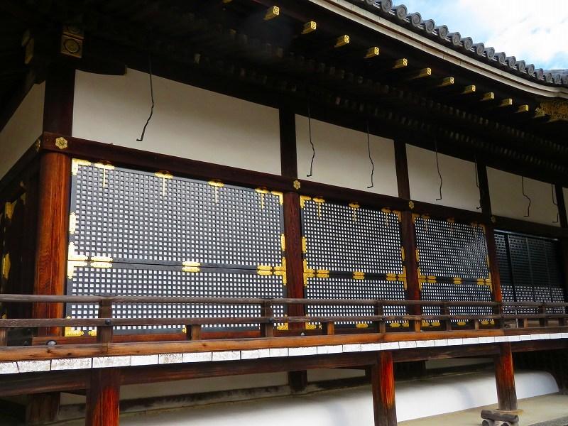 仁和寺の金堂伽藍模様20200122_e0237645_16501510.jpg
