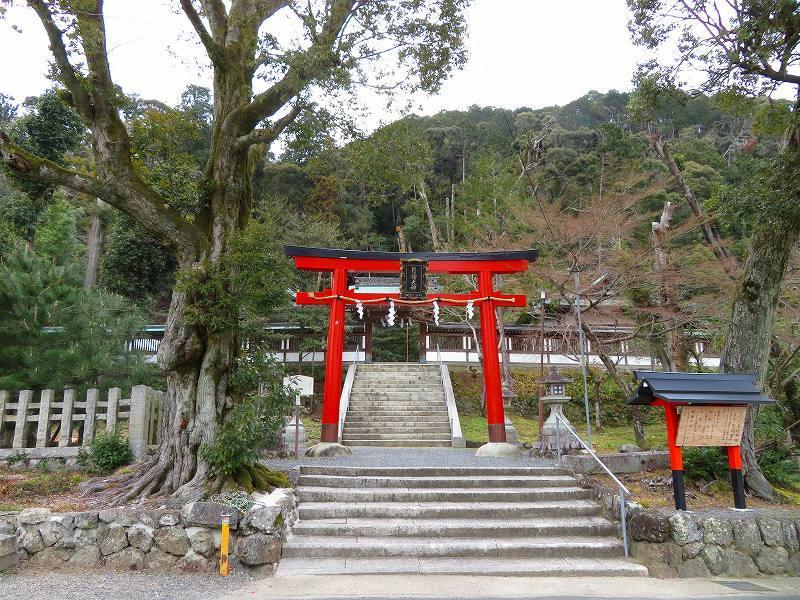 月読神社(松尾大社摂社)20200122_e0237645_22073893.jpg