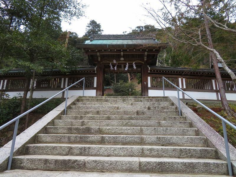 月読神社(松尾大社摂社)20200122_e0237645_22073953.jpg
