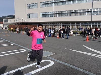 「令和2年 久世新春ロードレース大会」に出場しました!_f0151251_15111485.jpg
