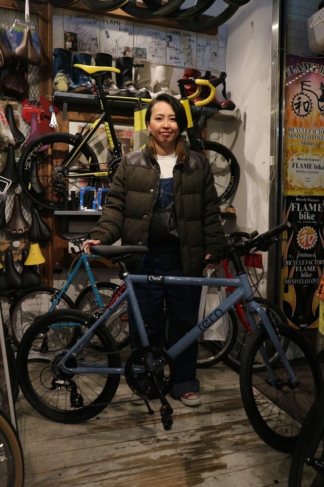 1月22日 渋谷 原宿 の自転車屋 FLAME bike前です_e0188759_18591945.jpg