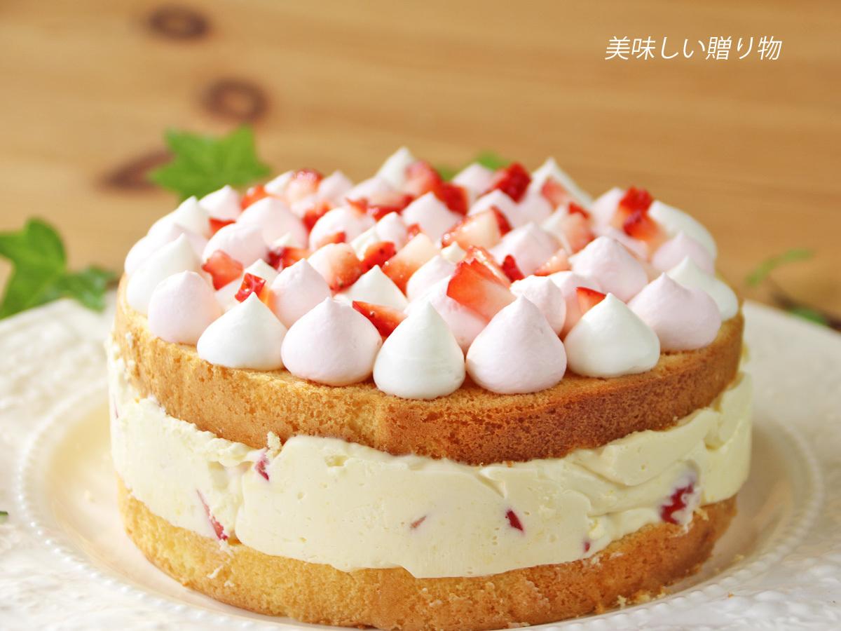 イチゴのティラミスケーキ_a0216871_07502193.jpg