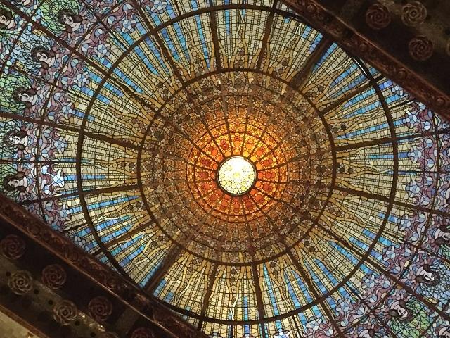 バルセロナ:カタロニア音楽堂とピカソ美術館_a0123372_06070082.jpg