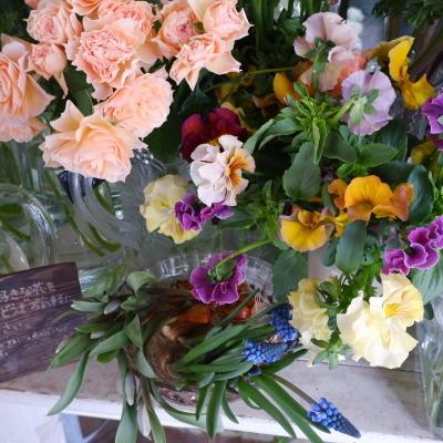 オークリーフ(今日のお店の花たち)_f0049672_16301502.jpg