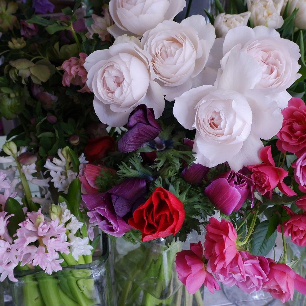 オークリーフ(今日のお店の花たち)_f0049672_16302317.jpg