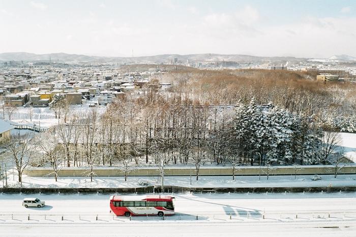 昨日の雪と雪だるまを作る姉妹_c0182775_17155947.jpg