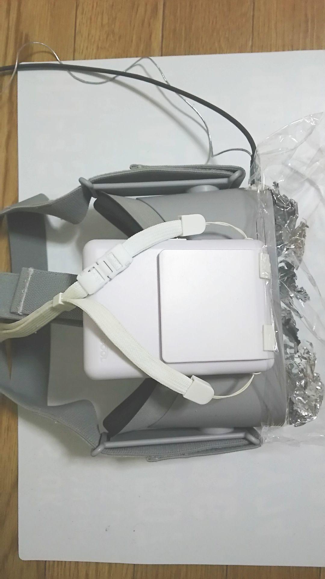 [Oculus Go] ファンによる強制空冷 [シロッコファンとアルミテープとラップ] (1/22)_a0034780_09350132.jpg