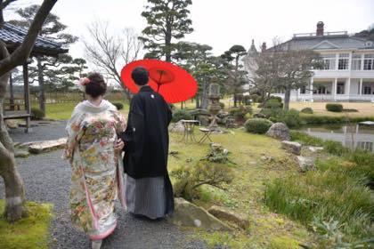 鳥取市内仁風閣での婚礼前撮り........_b0194185_19273958.jpg