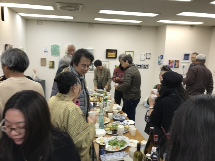 2020   新春小品展    ギャラリー由芽_c0100195_07003000.jpeg
