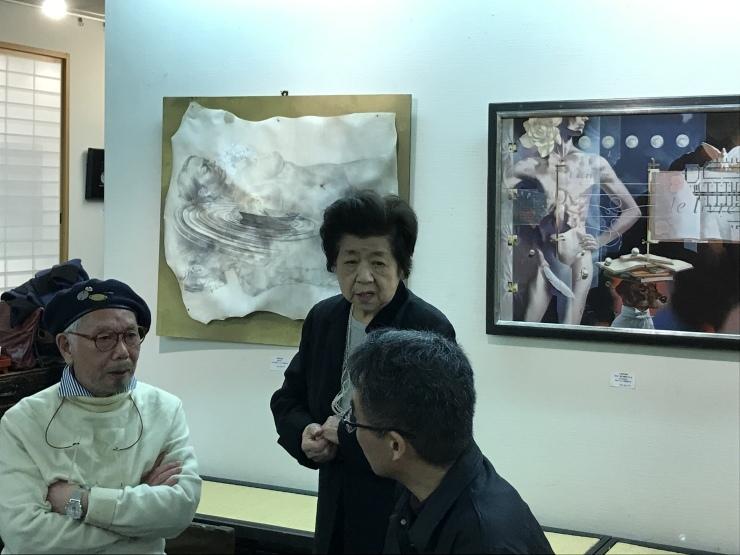 東京トリップ  1    保科豊巳展   子ども図書館_c0100195_07352188.jpeg