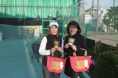 2020年1月22日(水)女子ダブルスオープントーナメント_b0158200_13375781.jpg