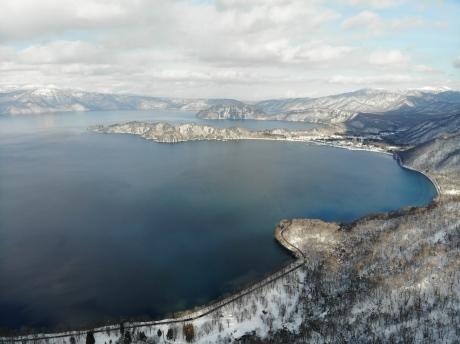 冬の十和田湖_e0148212_23002878.jpg
