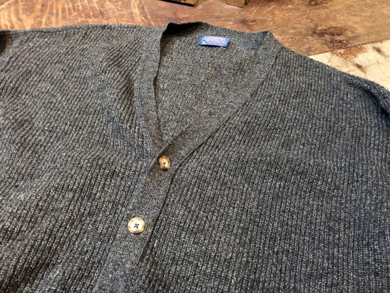 1月23日(木)入荷! 70s〜Pendleton ペンドルトン Wool Cardigan!_c0144020_13054040.jpg