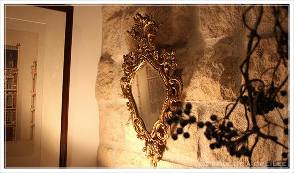 miroir mural 古い壁掛け鏡 ミラー フランスアンティーク_d0184921_16260264.jpg