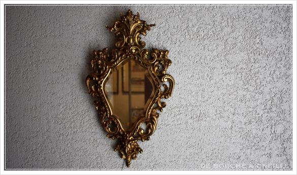 miroir mural 古い壁掛け鏡 ミラー フランスアンティーク_d0184921_16290444.jpg
