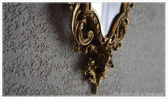 miroir mural 古い壁掛け鏡 ミラー フランスアンティーク_d0184921_16305328.jpg