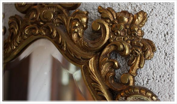 miroir mural 古い壁掛け鏡 ミラー フランスアンティーク_d0184921_16340684.jpg