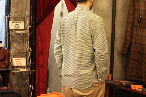 「WORKERS」 Modified BD, 2020, Green Check Supima Oxford ご紹介_f0191324_08591381.jpg