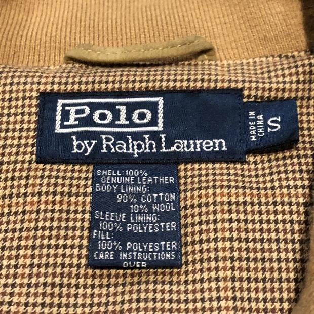 """90\'s \""""Polo Ralph Lauren\"""" キルティングJKT ヌバックレザー!!!!_c0355834_19203993.jpg"""