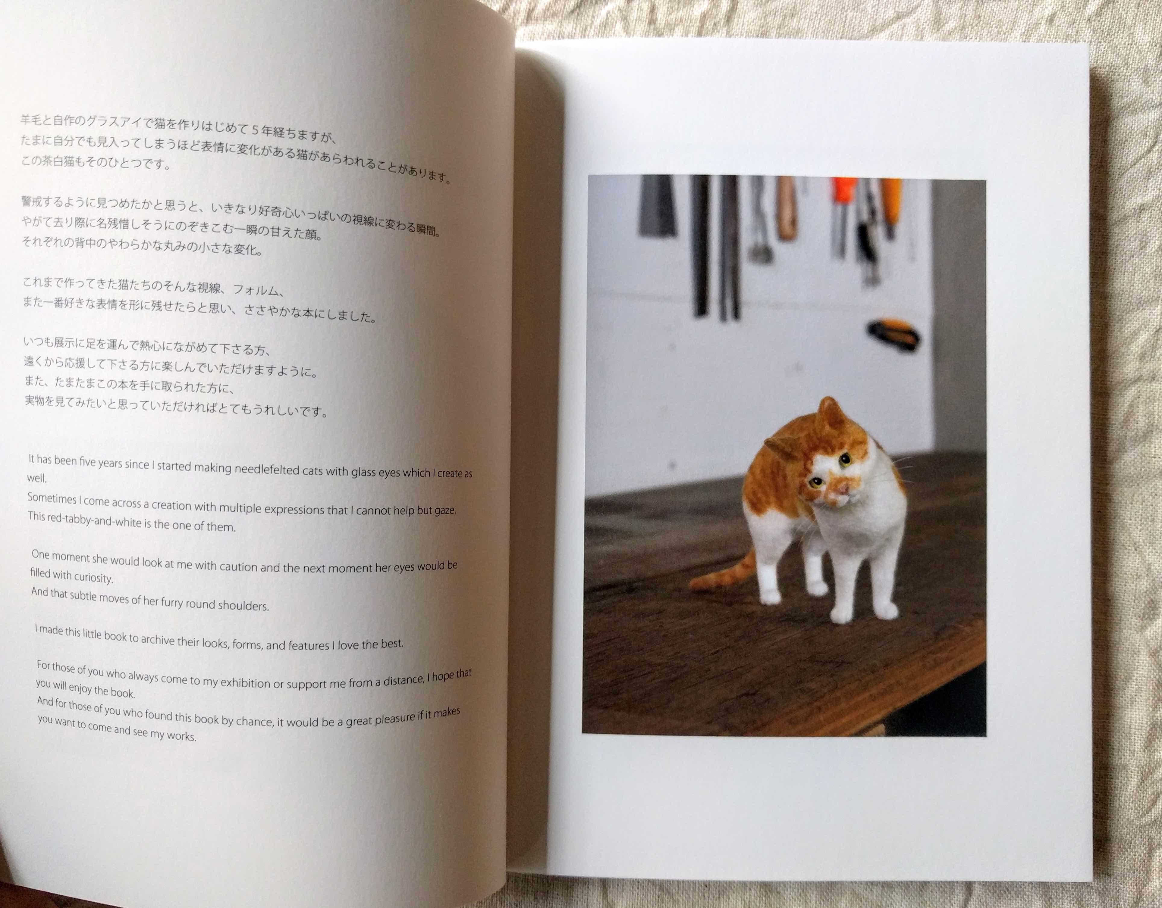 『FELT CATS』Nekolabo Works (猫ラボ)_a0265743_20464611.jpg