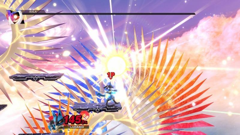 ゲーム「大乱闘スマッシュブラザーズ SPECIAL キーラ撃破!!!!そして…… 」_b0362459_16034537.jpg